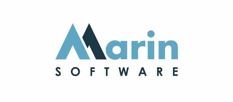 Marin Software logo.