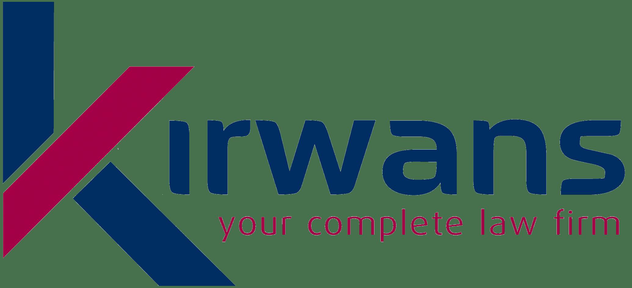 Kirwans solicitors logo.