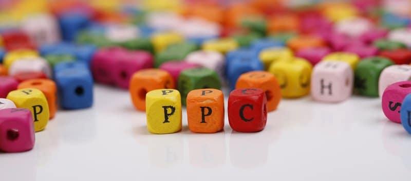 PPC on coloured blocks.