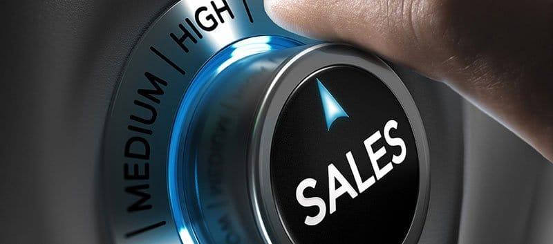 Sales knob.