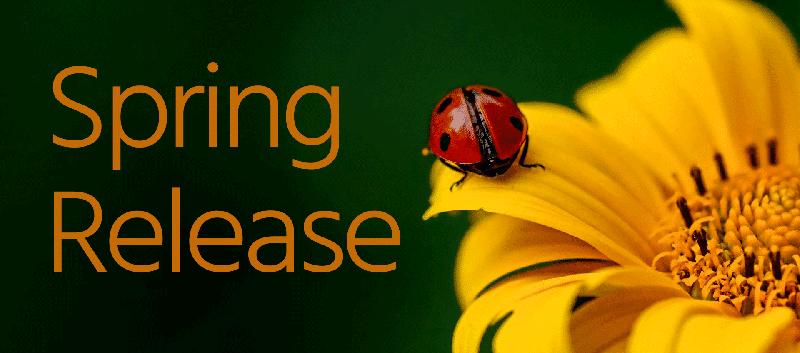 Spring release.