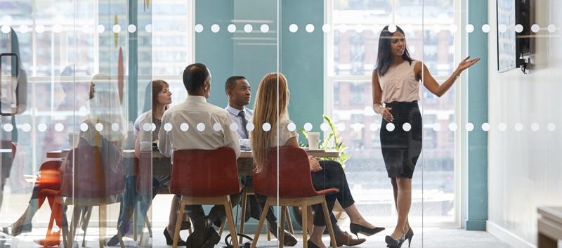 Board meeting.